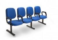 Negócios - Cadeira Longarina de  Espera para Igrejas Escritórios Clínicas - Cadeira Longarina de  Espera para Igrejas Escritórios Clínicas