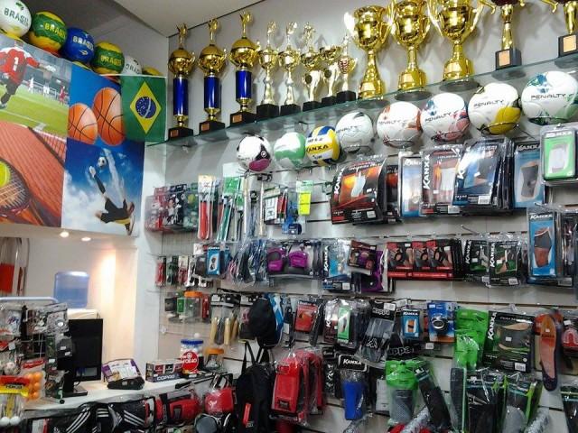 Loja de artigos esportivos