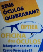 Oficina dos Óculos Conserto Reforma restauração de óculos