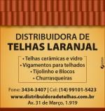 Distribuidora de Telhas Laranjal Romana Portuguesa Francesa Italiana Americana vidro