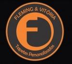 Fleming e Vitória Tapetes Personalizados Logomarca Capacho de Entrada