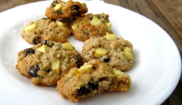 Cookie de Banana e Uvas Passas Pretas R$ 4,50
