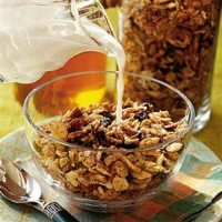 granola tradicional /granola light/ sem glúten