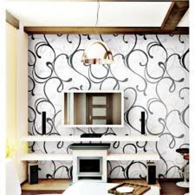20170301104843 papel de parede para quarto vinilico - Vinilico para paredes ...