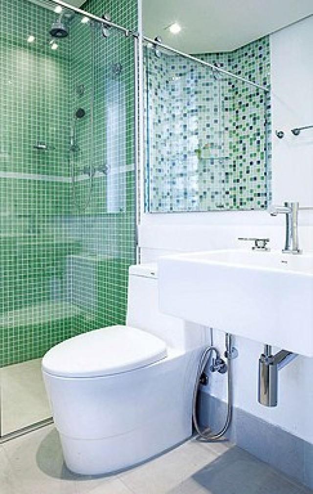 Pastilha de Vidro Cristal Verde 30x30cm  Piracicaba  Porcelanarte  Boca Sa -> Banheiro Com Pastilha De Vidro Verde Agua