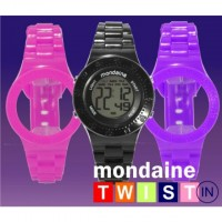Relógio de pulso Mondaine troca pulseiras