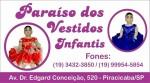 Paraíso dos Vestidos Infantis Piracicaba