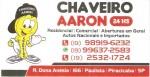 Chaveiro AARON 24 horas