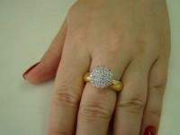 Saúde e beleza - Anéis Dourados Semi Jóias - Anéis Dourados Semi Jóias