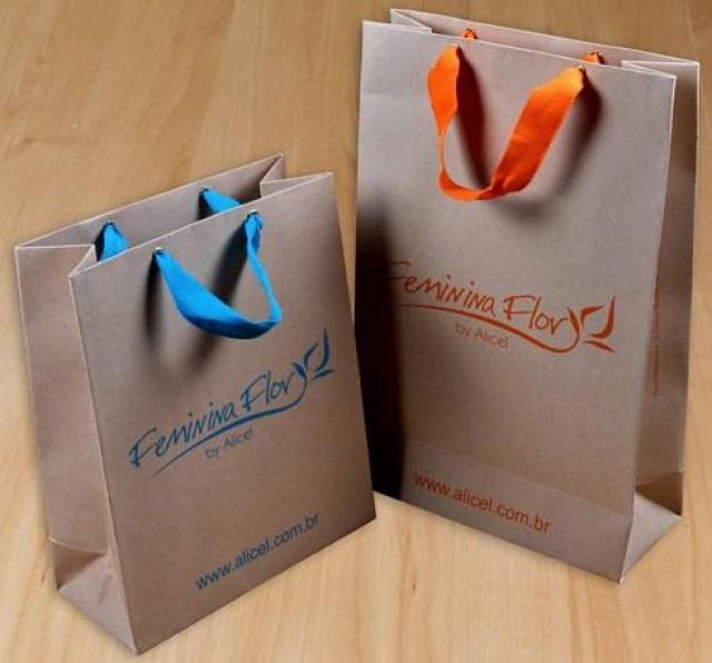 23c460cd4 Sacolas de Papel Personalizadas com Logotipo em Piracicaba ...