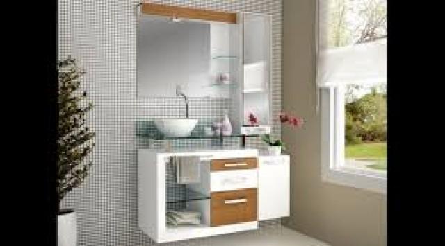 Gabinete para Banheiro Astra Cozimax Arte  Conchas  Destaque Materiais para -> Gabinete De Banheiro Astra
