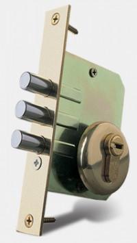 Fechadura de Alta Segurança Mul T Lock Trilock Herculiar