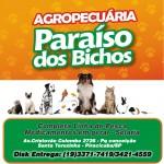 Agropecuária Paraíso dos Bichos Ração Produtos Veterinários Piracicaba