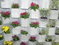 Para sua casa - bloco de cimento para jardim vertical - bloco de cimento para jardim vertical