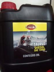Galão de Óleo 15 w 40  20 litros Taurus Falub