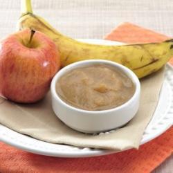 Papinha para Bebê Frutas Congeladas Maçã e Banana Papa Rica