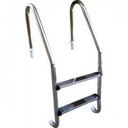 Escadas P/ Piscina Em Aço Inox 304 C/ Degraus Em Aço Inox Piracicaba