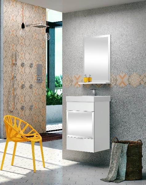 Gabinete Para Banheiro Pequeno Espelho Bisote Bumi Em