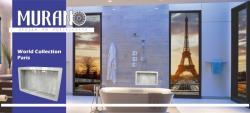 Nicho Para Banheiro Porcelanato Paris 58 x 34 cm Murano