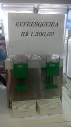Equipamentos e Acessórios  - Refresqueira IBBL 2 cubas - produto usado com garantia  - Refresqueira IBBL 2 cubas - produto usado com garantia