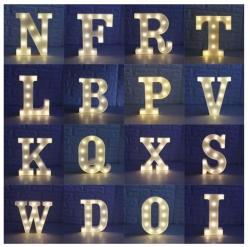 Luminária de Letras Led