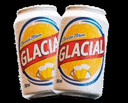 Alimentação - Cerveja GLACIAL lata 350 ML - Cerveja GLACIAL lata 350 ML
