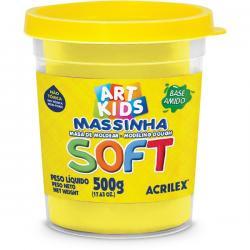 Massa de modelar soft acrilex 500g