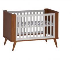 Bebês e Crianças - Berço de Bebe Madeira - Berço de Bebe Madeira