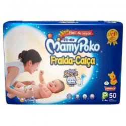 Fralda Para Bebe Infantil tamanho P/50 M/42 G/36 XG/32 XXG/28 Mamypoko Calça