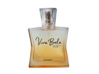 Saúde e beleza - Perfume feminino Viva Bela 50ml Verde Brasil  - Perfume feminino Viva Bela 50ml Verde Brasil