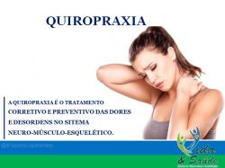 Saúde e beleza - Quiropraxia  - Quiropraxia