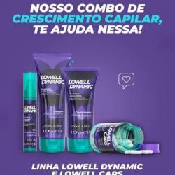 Saúde e beleza - Lowell Caps & Shampoo & Condicionador & Tônico Lowell Dynamic - Lowell Caps & Shampoo & Condicionador & Tônico Lowell Dynamic