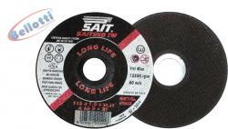 Equipamentos e Acessórios  - Disco de Corte Industrial 115mm x 1,0 Saiteko  - Disco de Corte Industrial 115mm x 1,0 Saiteko