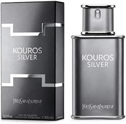 Saúde e beleza - Perfume Importado Masculino Yves Saint Laurent Kouros Silver Eau de Toilette 100ml - Perfume Importado Masculino Yves Saint Laurent Kouros Silver Eau de Toilette 100ml