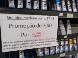 Artes - oleo gel medium corfix 37ml promocao - oleo gel medium corfix 37ml promocao