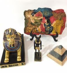Peças Egípcias em resina