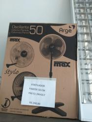 Ventilador de Parede 50 cm Oscilante Max