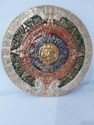 Calendário Asteca em Gesso