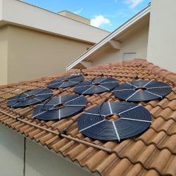 Kit Aquecimento Solar completo e Instalado