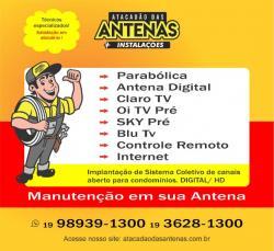Instalação de Antenas em Americana