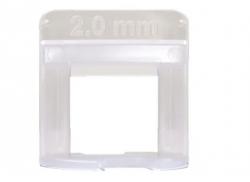 Nivelador de Piso Espaçador 2 mm Promax
