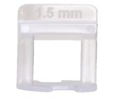 Nivelador de Piso Espaçador 1,5 mm Promax