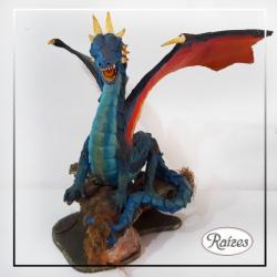 Dragão de resina