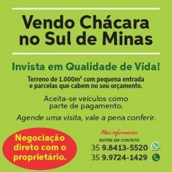 Terrenos no Sul de Minas