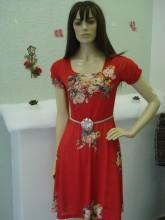 Vestido Feminino Godê Estampado