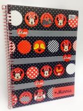 Livraria e papelaria - Caderno Minnie - Caderno Minnie