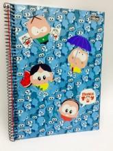 Livraria e papelaria - Cadernos Monica Toy - Cadernos Monica Toy