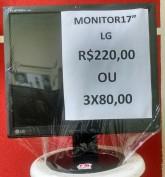 Eletrônicos e informática - Monitor usado e semi-novo - Monitor usado e semi-novo