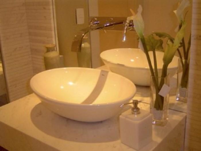 Cuba de Louça Japi  Piracicaba  União Materiais Para Construção  Pisos e R -> Torneiras Para Banheiro Cuba Sobrepor