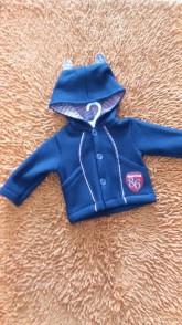 Bebês e Crianças - Casaco de Soft Marinho Infantil  - Casaco de Soft Marinho Infantil